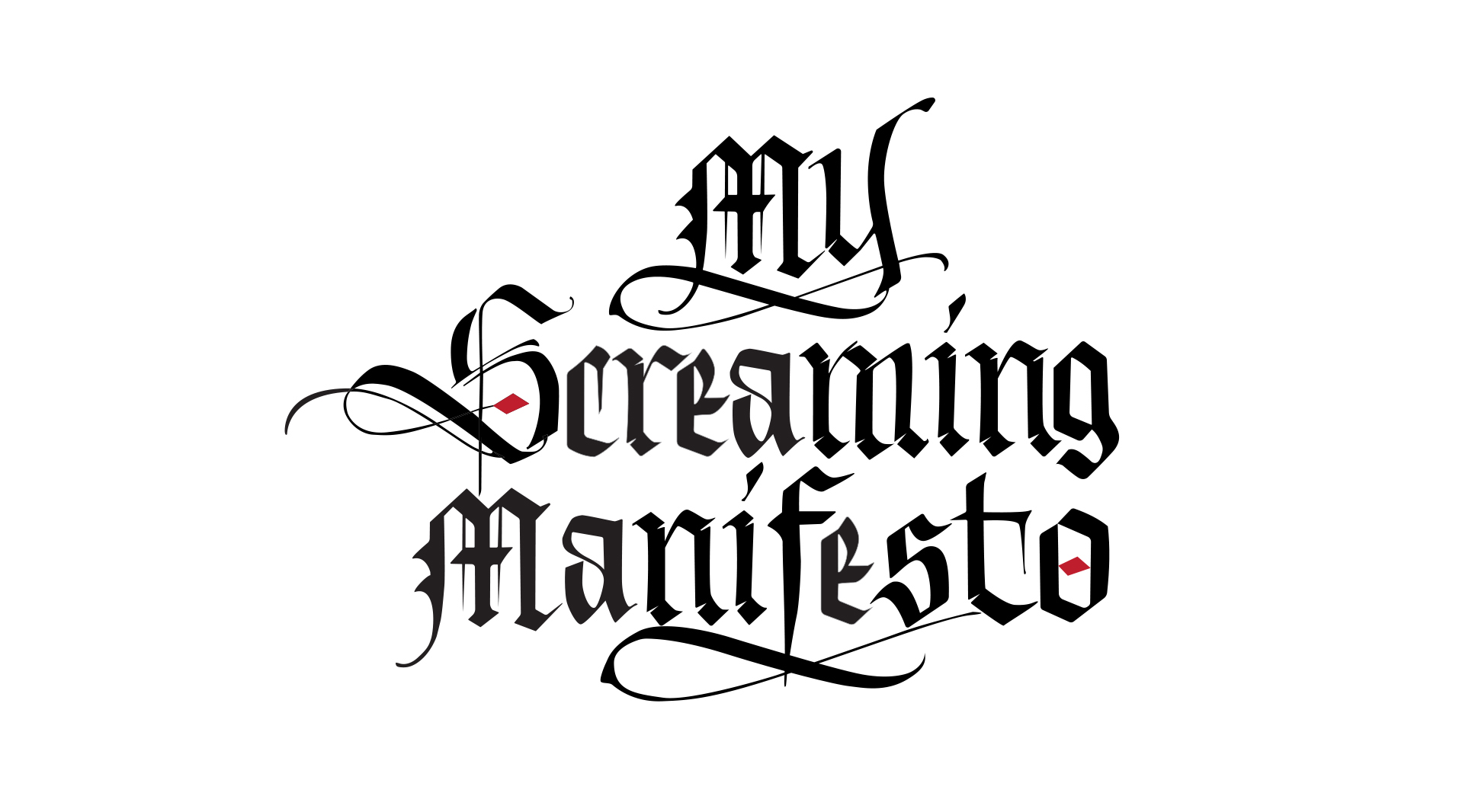 My-Screming-manifesto-logo-emanuele-serra