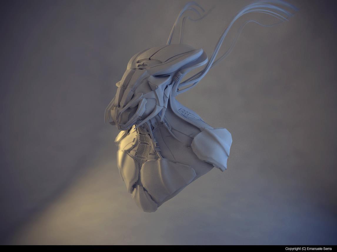 Character 3D Emanuele Serra