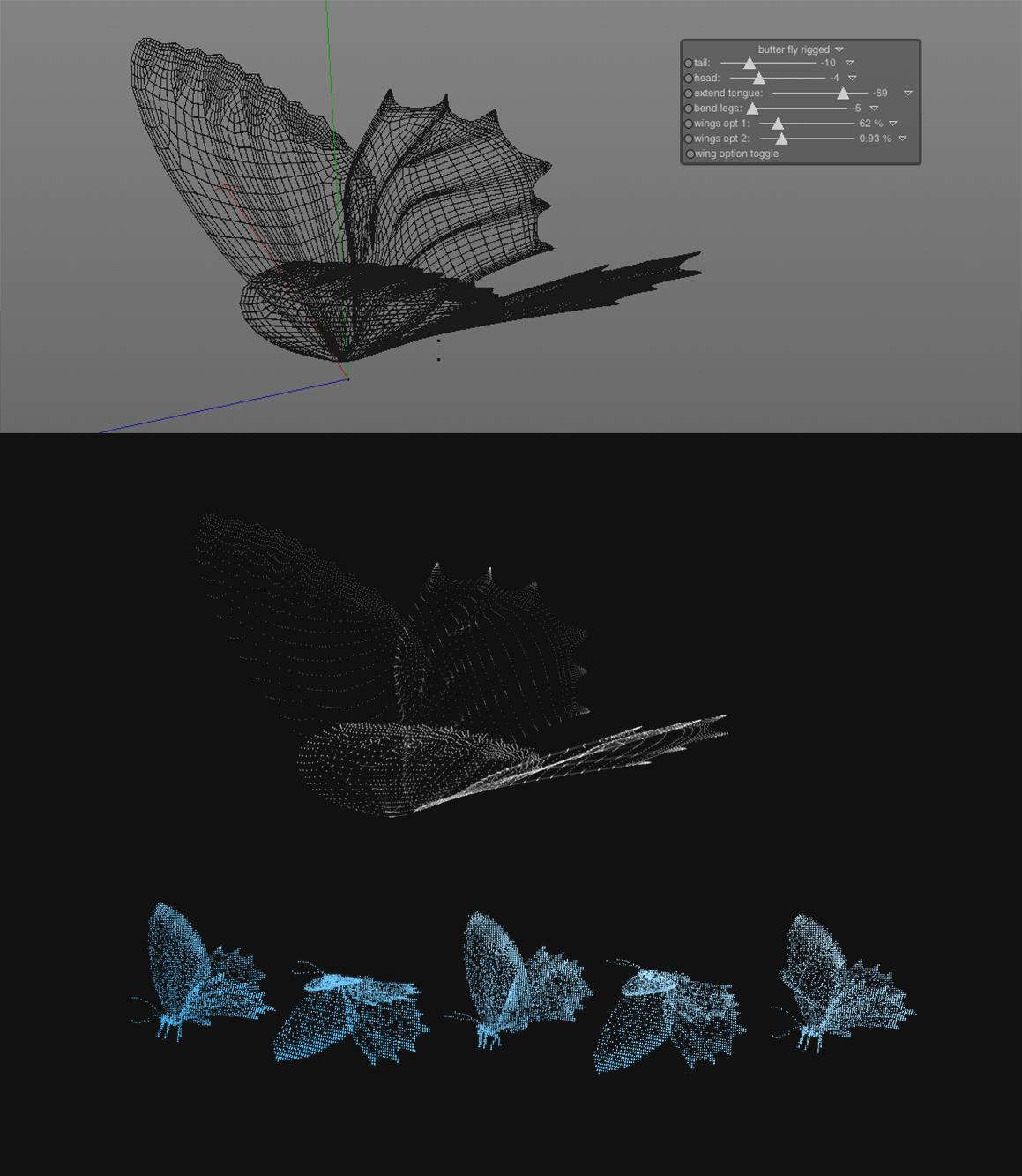 Butterfly-Hologram